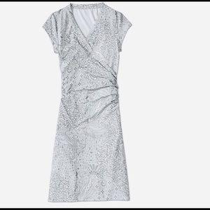 Athleta Printed Nectar Dress Size Small Pet EUC